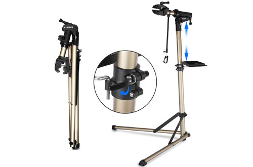 CXWXC Bike Repair Stand -Shop Home Bicycle Mechanic Maintenance Rack