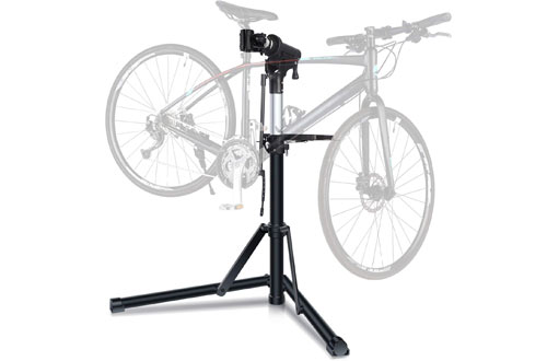 Sportneer Height-Adjustable Bike Repair Stand - Foldable Bicycle Repair Rack Workstand