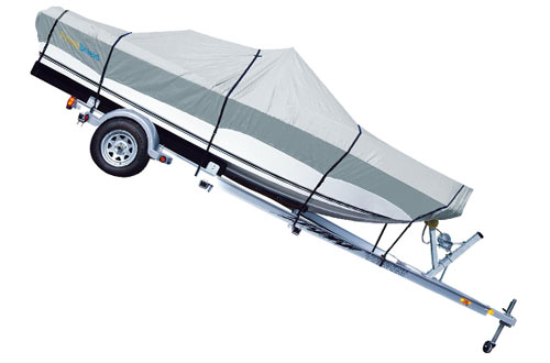 PrimeShield Heavy Duty Boat Cover for V-Hull Runabouts