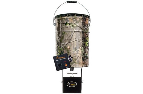 Wildgame Innovations Real Tree Camo Steel Pail Feeder
