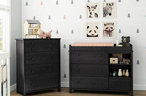 South Shore Little Smileys Dresser Changing Table with Removable Station
