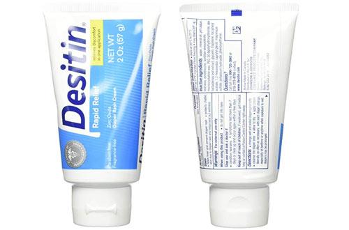 Desitin Rapid Relief Creamy Zinc Oxide Diaper Rash Cream