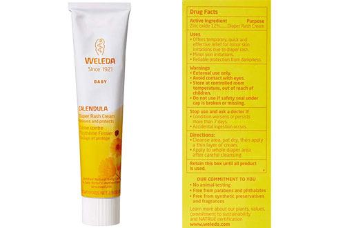 Weleda Calendula2.8-OunceBaby Diaper Rash Cream