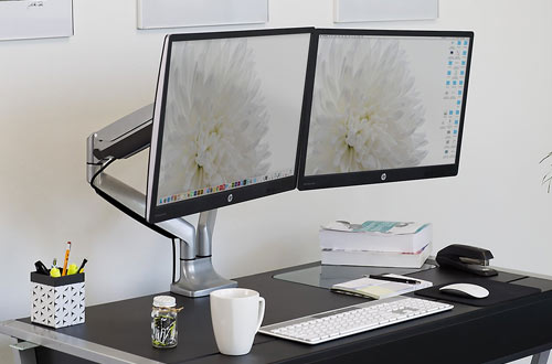 Mount-It Monitor Desk Mount & Computer Monitor Stand