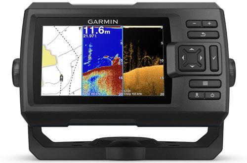 Garmin Striker GPS Fishfinderwith CHIRP Traditional & ClearVu Scanning Sonar Transducer