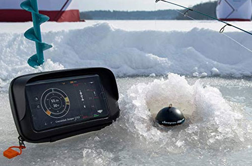 Deeper PRO Smart Sonar Portable Wireless Wi-Fi Fish Finder for Shore & Ice Fishing