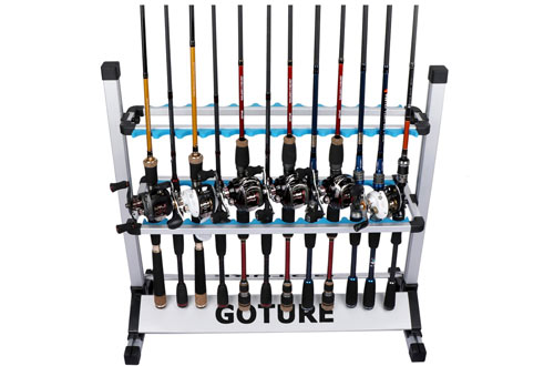Goture Portable Fishing Rod Rack and Ultralight Fishing Rod Holder
