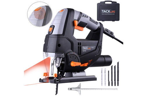 TACKLIFEAdvanced 6.7 Amp Jigsaw with Laser & LED and 6 Blades