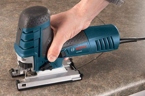 Bosch 7.0 Amp Corded Barrel-Grip Jig Saw with Carrying Case