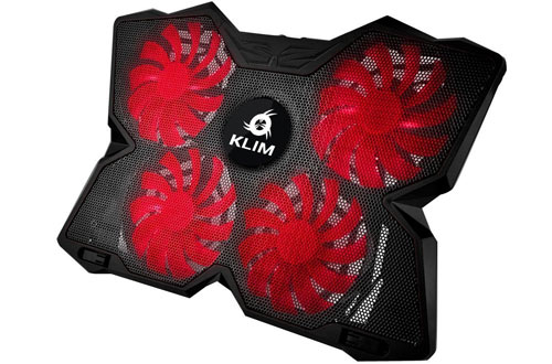 KLIM Wind Gaming Cooling Pad for 11' - 19' Laptops