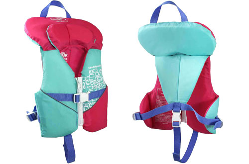 Stohlquist Toddler Life Jacket Coast Guard Life Vest for Infants