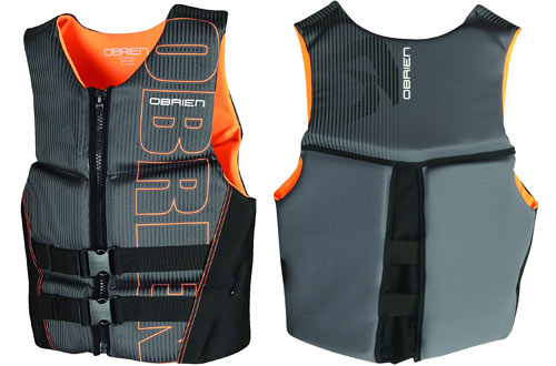 O'Brien Men's Flex V-Back Neoprene Large Life Vest