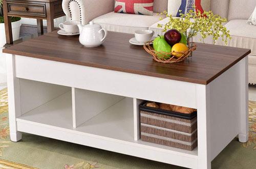 CasartWood Home Living Room Moderntable