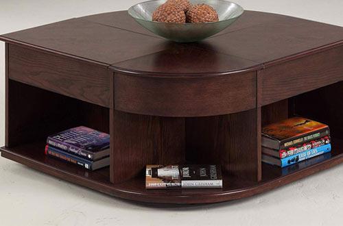 Progressive Furniture Sebring Castered Double Lift-Top Cocktail Table