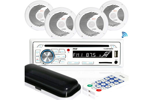 PYLEMarine Stereo Receiver Speaker Kit