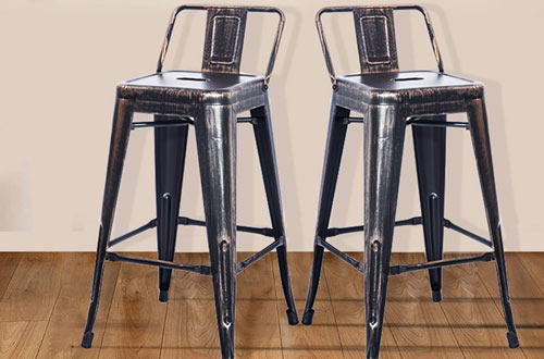 Merax 26-Inch Metal Chair Barstool