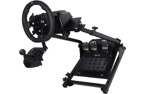 Marada Compatible Racing Wheel Stand - Height Adjustable Steering Wheel Stand