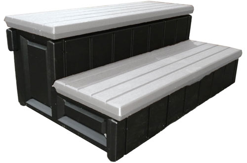 Leisure Accents Spa Step with Storage Compartment