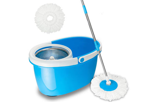 Valuebox Magic Spinning Mop Cleaning System for Kitchen Floor Cleaning