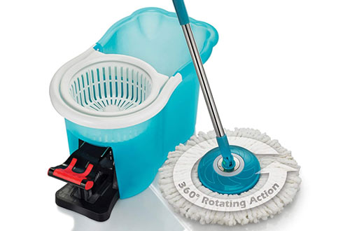 BulbHead Home Hurricane Spin Mop Cleaning System & Floor Mop