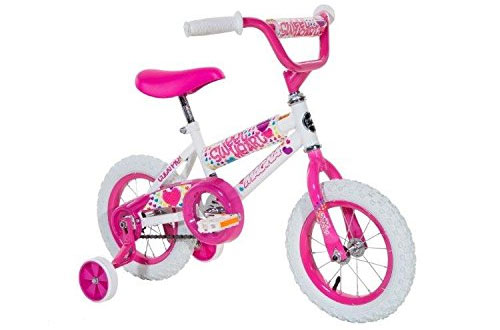 Magna Girls Sweet Heart Kids Bike with Pedal Reflectors