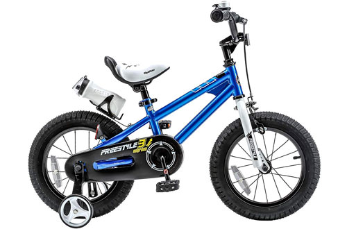 RoyalBaby Freestyle Kid's Balance Bike for Boys and Girls with Training Wheels
