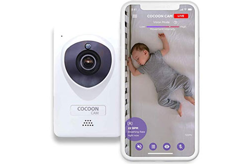 Cocoon Cam Plus - Baby Monitor with Breathing Monitoring