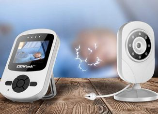 Campark Wireless Video Baby Monitor with Camera & Infrared Night Vision
