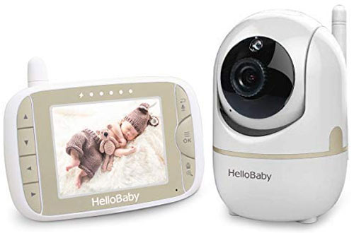 Hello Baby-US Baby Monitor with Remote Pan-Tilt-Zoom Camera & LCD Screen