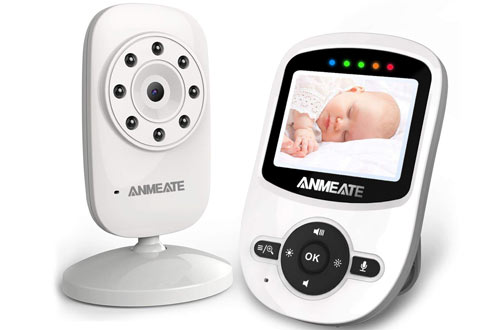 ANMEATE Digital 2.4Ghz Wireless Video Monitor for Baby
