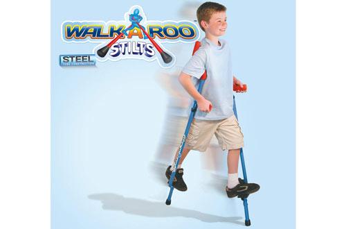 Geospace Original Walkaroo Steel Stiltsfor Easy Balance Walking