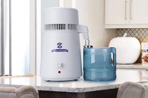 CO-Z 4 LiterDistilling Pure Water Machine for Countertop Desktop