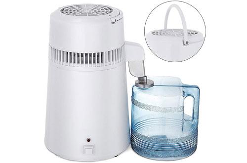 Mophorn Countertop Water Distiller750W Distillted Purifier Filter with Handle