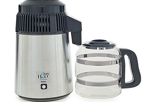 H2OLabsBest-In-Class Water Distiller with Glass Carafe