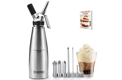 Zoemo ClassicProfessional Culinary Cream Whipper