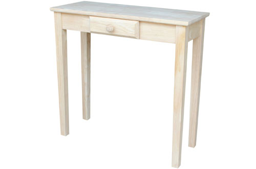 International Concepts OT-3012 Hall Unfinished Table
