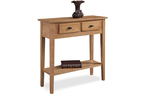 Leick 10075-DS Desert Sands Hall Wood Console Table