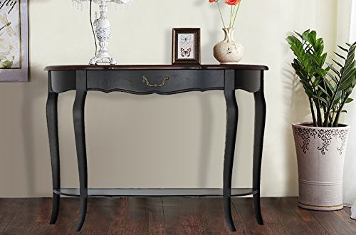 Waroom Home Solid Wood Console Sofa Table