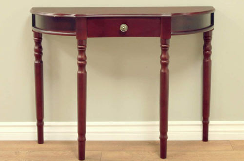Frenchi Furniture Entry Way Narrow Console Table