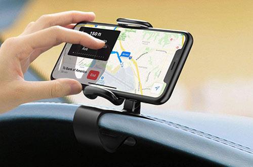 JunDa360-Degree RotationPhone Holder for Car
