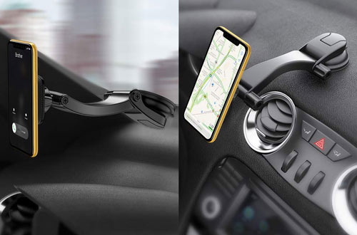 Adjustable Vehicle Phone Mount for iPhone, Samsung Galaxy & More