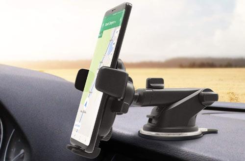 Dash & Windshield Mount Phone Holder for Car