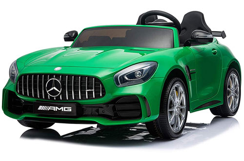 First Drive Mercedes Benz Kids Cars -Dual Motor Electric Power Ride On Car with Remote