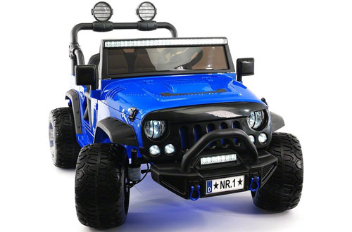 Moderno ToddlerRide On Toy Car for Kidswith RC Parental Remote