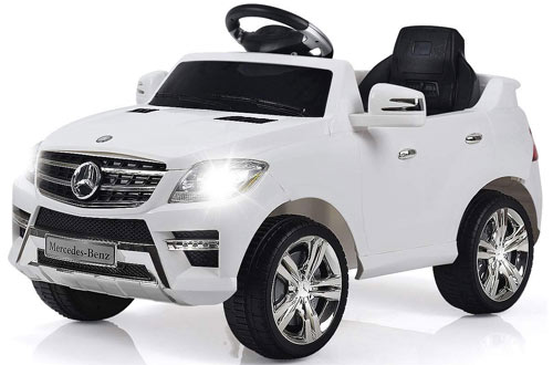 CostzonLicensed Mercedes Benz ML350 6V Kids Electric Battery Powered Vehicle