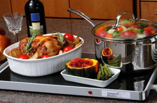 Classic Kitchen Deluxe Warming Tray