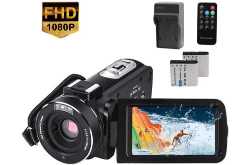YEEHAO CofunKoolWiFi HD 1080P 24MPVideo Camera Camcorder