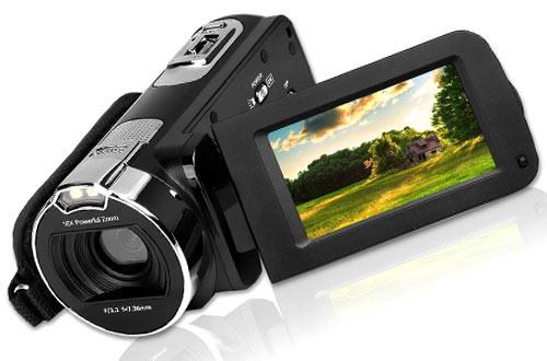 GordVE 2.7 Inch HD 1080P Digital Camera Camcorder