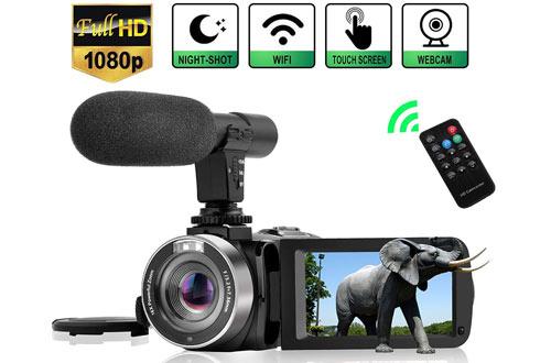 LinnseFull HD 1080P 30FPS 3'' LCDCamcorder Digital Video Camera