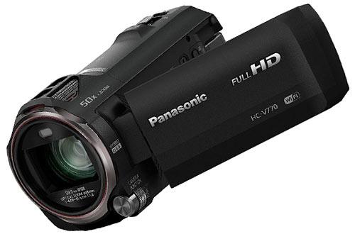 PanasonicHC-V770Full HD Camcorder,20X Optical Zoom
